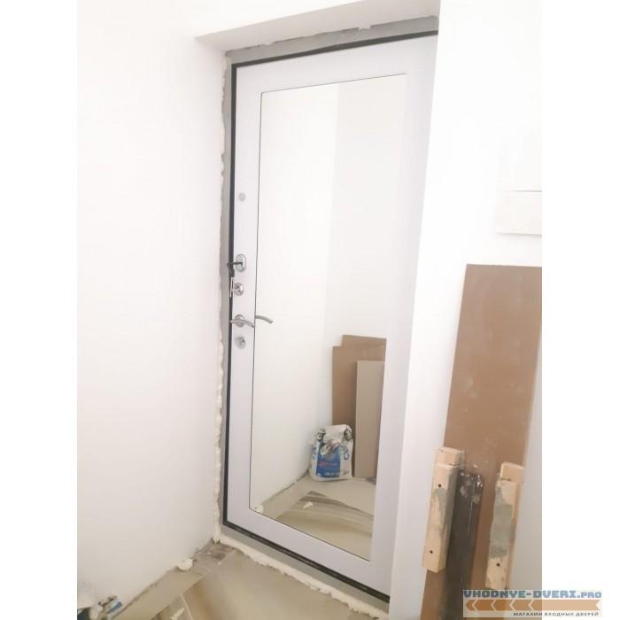 Входная дверь Ратибор Милан Белый Ясень