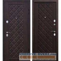 Входная металлическая дверь Камелот (Вишня темная / Вишня темная)