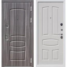 Входная металлическая дверь Гранада (Венге тобакко / Белый ясень)