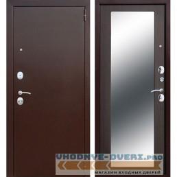 Входная металлическая дверь Царское Зеркало Maxi (Антик Медь / Венге)