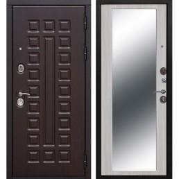 Входная металлическая дверь Сенатор Зеркало Maxi (Венге / Дуб Сонома)
