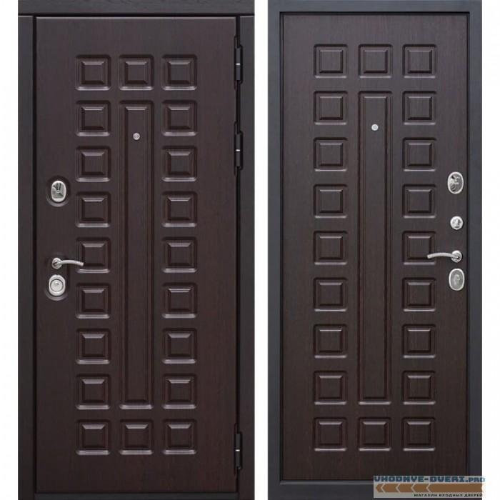 Входная металлическая дверь Сенатор (Венге / Венге)