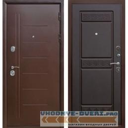Входная металлическая дверь Троя (Антик Медь / Венге)
