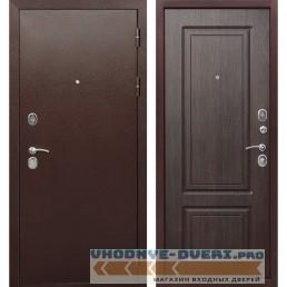 Входная металлическая дверь Толстяк 10 см (Антик Медь / Венге)