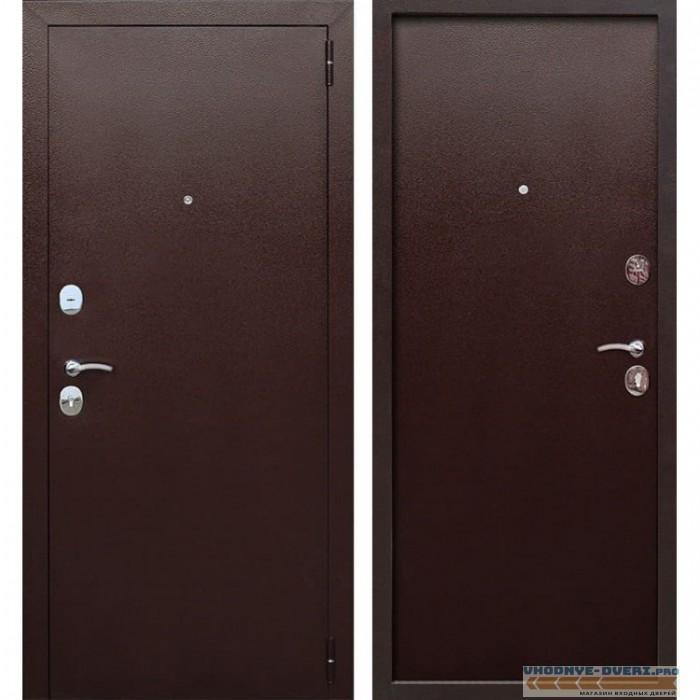 Входная металлическая дверь Гарда (Антик Медь / Антик Медь)