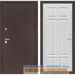 Входная дверь Лабиринт CLASSIC антик медный 08 - Кристалл вуд