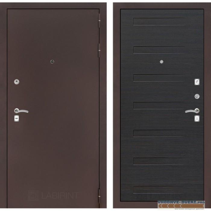 Входная дверь Лабиринт CLASSIC антик медный 14 - Эковенге