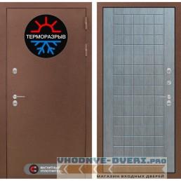 Двери Лабиринт - Термо Магнит 09 - Лен сильвер грей