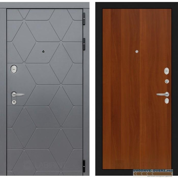 Входная дверь Лабиринт COSMO 05 - Итальянский орех