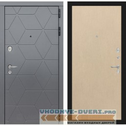Входная дверь Лабиринт COSMO 05 - Венге светлый