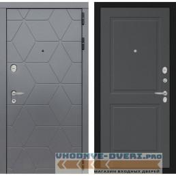 Входная дверь Лабиринт COSMO 11 - Графит софт