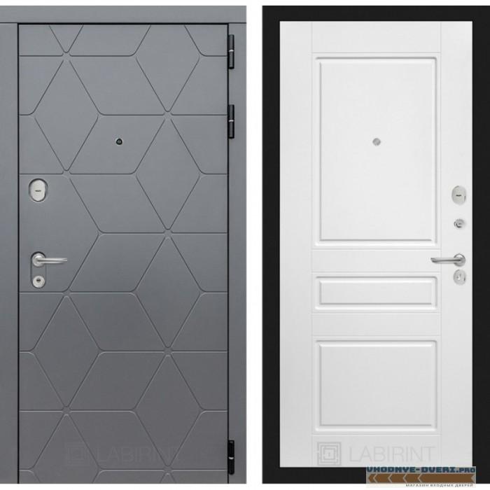 Входная дверь Лабиринт COSMO 03 - Белый софт
