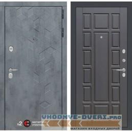 Входная дверь Лабиринт Бетон 12 - Венге