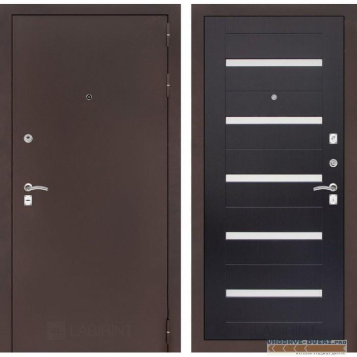 Входная дверь Лабиринт CLASSIC антик медный 01 - Венге