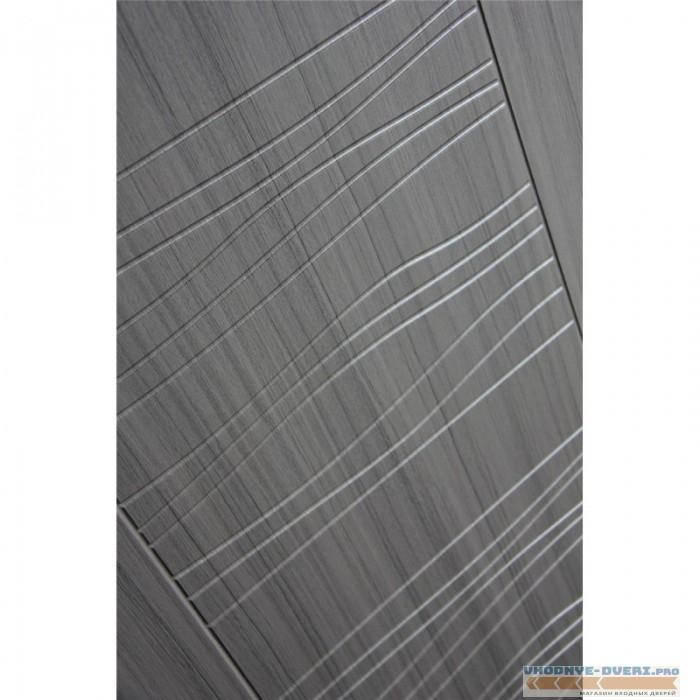 Входная дверь Лабиринт CLASSIC антик медный 06 - Сандал серый