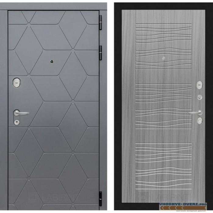 Входная дверь Лабиринт COSMO 06 - Сандал серый