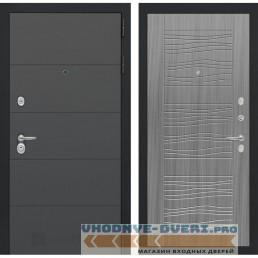 Входная дверь Лабиринт ART графит 06 - Сандал серый