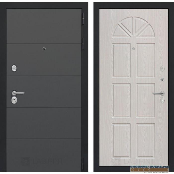 Входная дверь Лабиринт ART графит 15 - Алмон 15