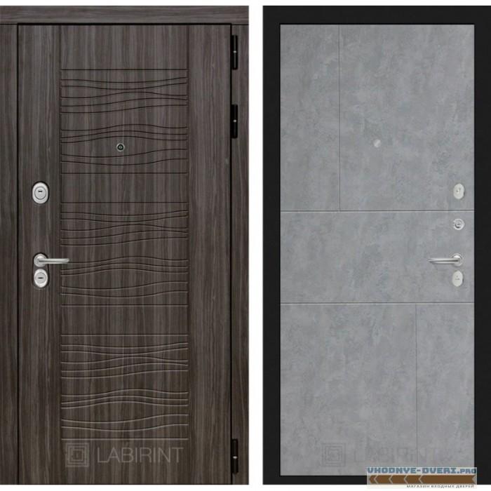 Входная дверь Лабиринт Сканди 21 - Бетон светлый