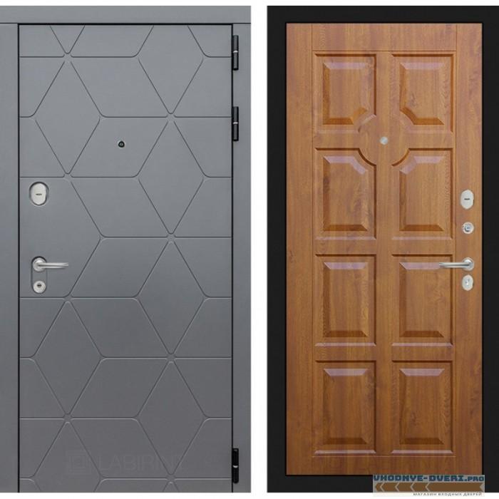Входная дверь Лабиринт COSMO 17 - Золотой дуб