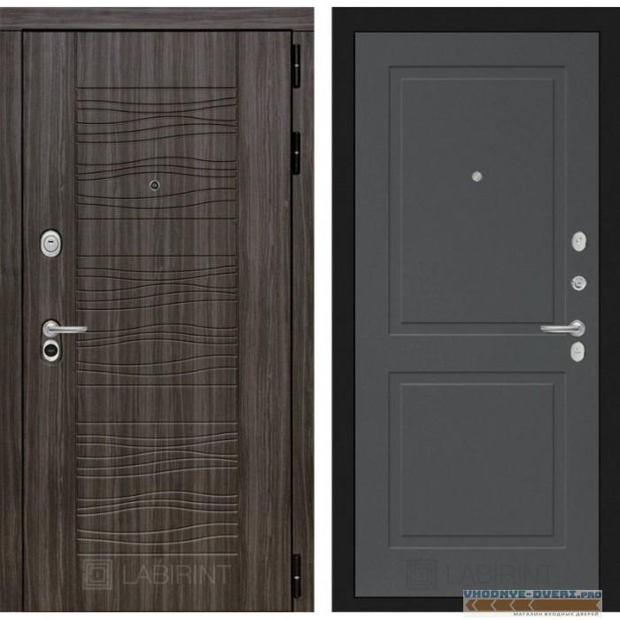 Входная дверь Лабиринт Сканди 11 - Графит софт