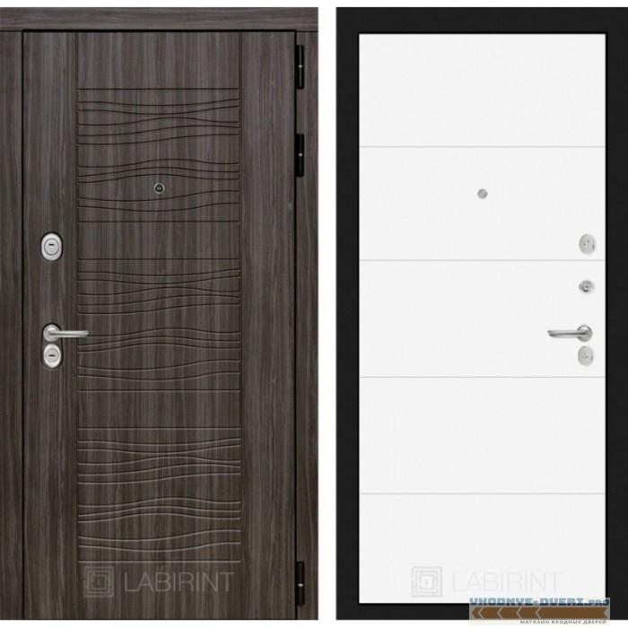 Входная дверь Лабиринт Сканди 13 - Белый софт