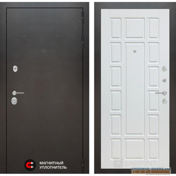 Входная дверь Лабиринт SIVLER 12 - Белое дерево
