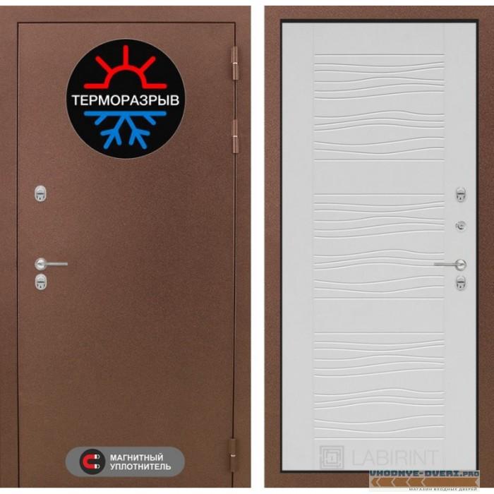 Двери Лабиринт - Термо Магнит 06 - Белое дерево