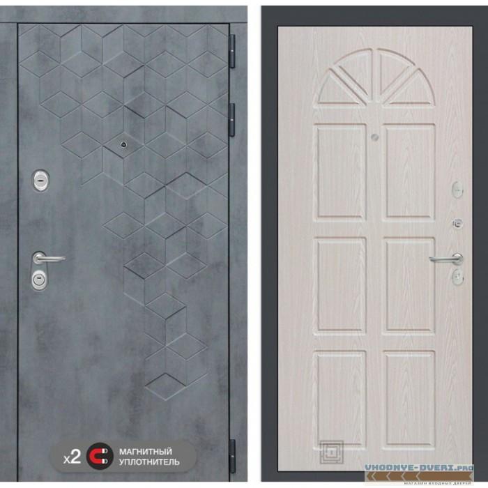 Входная дверь Лабиринт Бетон 15 - Алмон 25