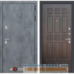 Входная дверь Лабиринт Бетон 16 - Алмон 28