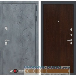 Входная дверь Лабиринт Бетон 05 - Венге