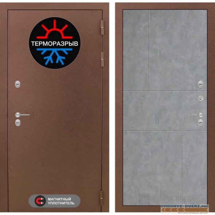 Двери  Лабиринт - Термо Магнит 21 - Бетон светлый