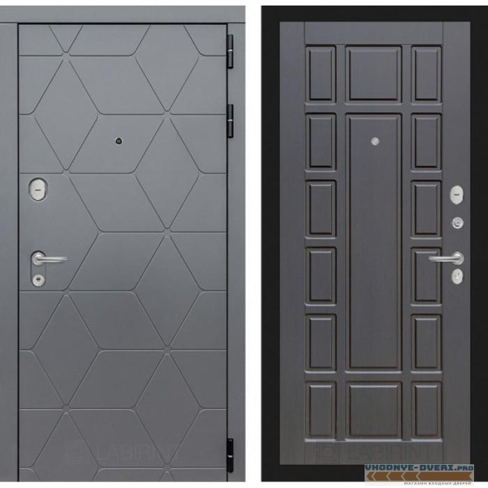 Входная дверь Лабиринт COSMO 12 - Венге