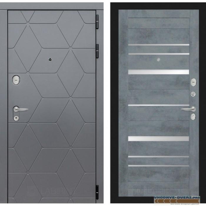 Входная дверь Лабиринт COSMO 20 - Бетон темный