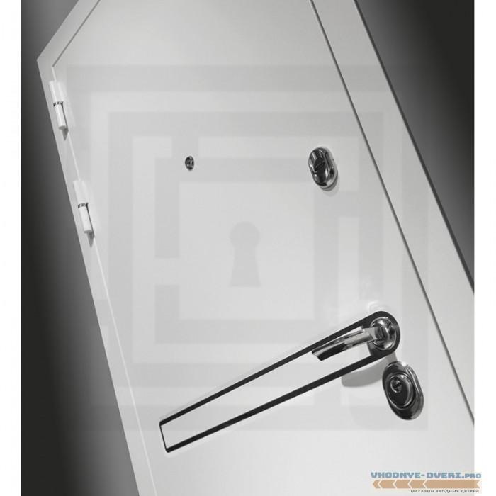 Входная дверь Лабиринт Лайн WHITE 13 - Грей софт