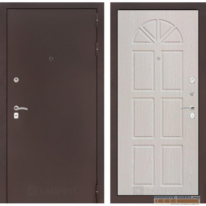 Входная дверь Лабиринт CLASSIC антик медный 15 - Алмон 25