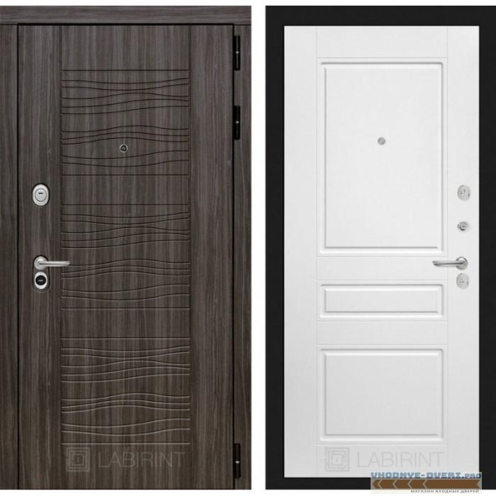 Входная дверь Лабиринт Сканди 03 - Белый софт