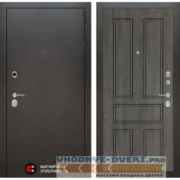 Входная дверь Лабиринт Сильвер 10 - Дуб филадельфия графит