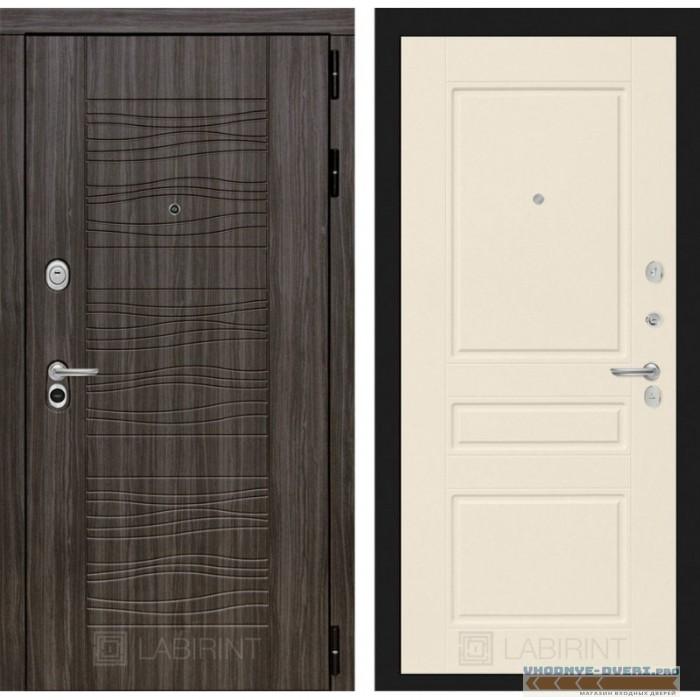 Входная дверь Лабиринт Сканди 03 - Крем софт