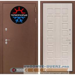 Входная Дверь Лабиринт - Термо Магнит 04 - Беленый дуб