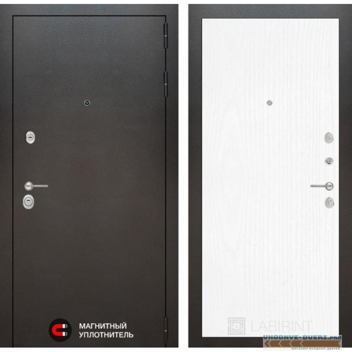 Входная дверь Лабиринт Сильвер 07 - Белое дерево
