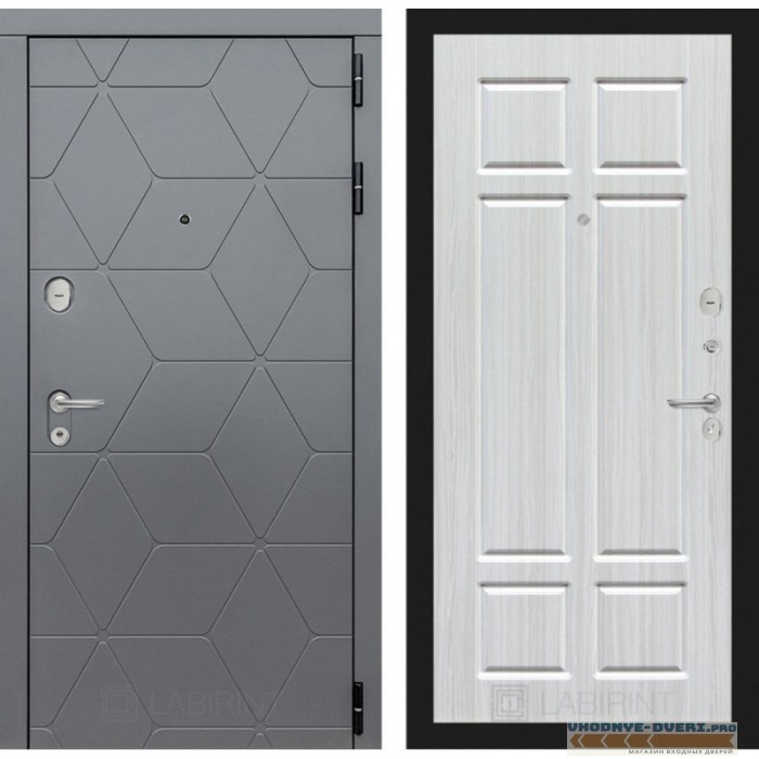 Входная дверь Лабиринт COSMO 08 - Кристалл вуд
