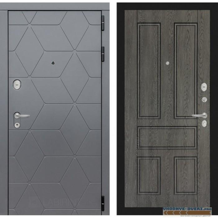 Входная дверь Лабиринт COSMO 10 - Дуб филадельфия графит