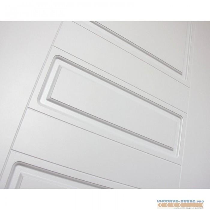 Входная дверь Лабиринт CLASSIC антик медный 03 - Белый софт