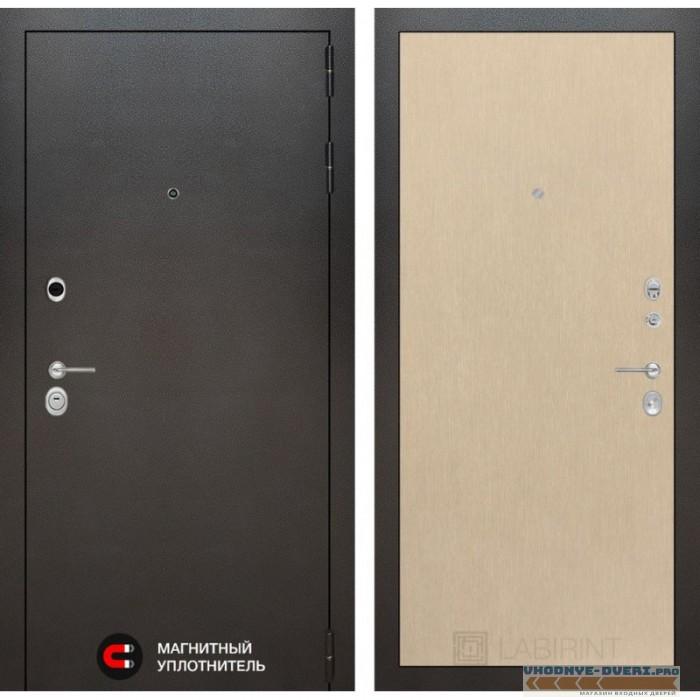Входная дверь Лабиринт Сильвер 05 - Венге светлый