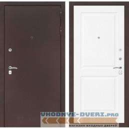Входная дверь Лабиринт CLASSIC антик медный 11 - Белый софт