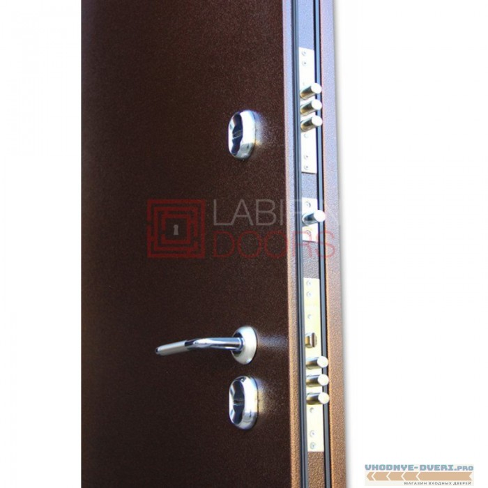 Двери Лабиринт - Термо Магнит 12 - Белое дерево