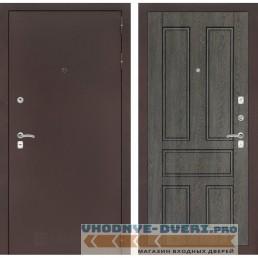 Входная дверь Лабиринт CLASSIC антик медный 10 - Дуб филадельфия графит