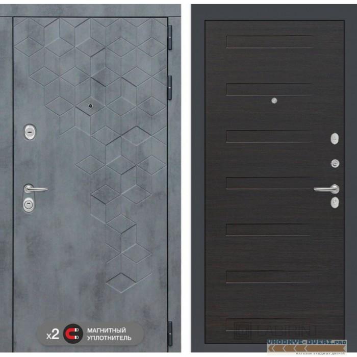 Входная дверь Лабиринт Бетон 14 - Эковенге