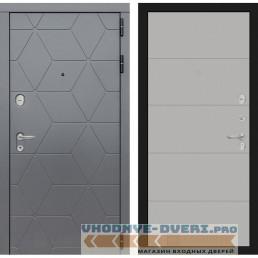 Входная дверь Лабиринт COSMO 13 - Грей софт